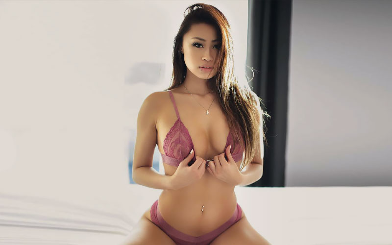 cute thai woman for marriage in bedroom