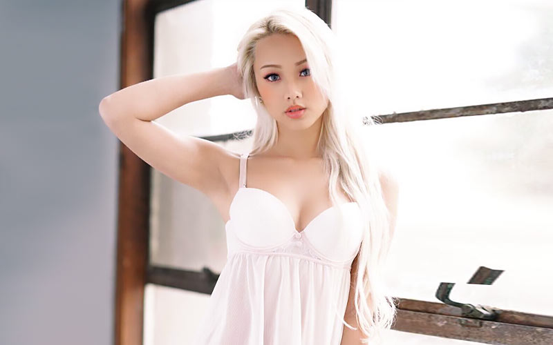 japanese mail order bride in white dress